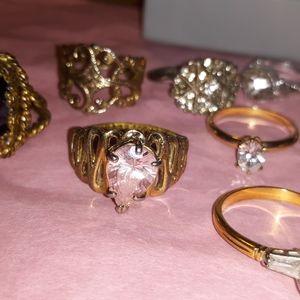 Vintage Rings Bundle of 18 Rings